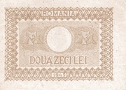 20 Lei 1945 – revers