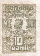 10 Bani (Ministry of Finance) – avers