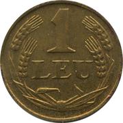 1 leu (Mihai I) – revers