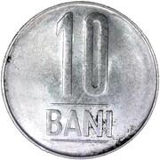 10 Bani (Aigle avec couronne) – revers