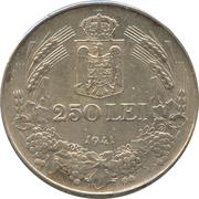 250 lei (Mihai I) – revers