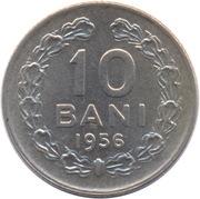 10 bani (République populaire) – revers