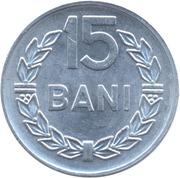 15 bani (République socialiste) -  revers