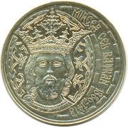 50 bani  (Intronisation de Mircea Ier de Valachie) -  revers