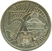 50 bani  (Intronisation de Mircea Ier de Valachie) -  avers