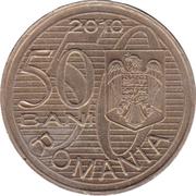 50 bani ( Premier vol d'Aurel Vlaicu) – avers