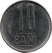 10 Bani (Aigle sans couronne) -  revers