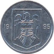 5 lei (République) -  avers