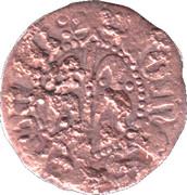 Denier - Jean II (roi d'Aragon - Maison de Trastamare) Comte de Roussillon – revers