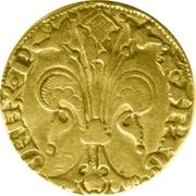 Florin Pierre IV -  revers