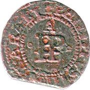 Ternet de Perpignan - Philippe III (roi d'Aragon) – avers
