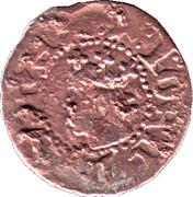 Denier - Jean II (roi d'Aragon - Maison de Trastamare) Comte de Roussillon – avers