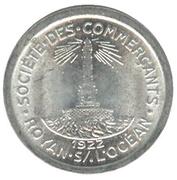 5 Centimes - Société des Commerçants - Royan s/l'Océan [17] – avers
