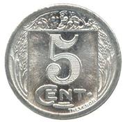 5 Centimes - Société des Commerçants - Royan s/l'Océan [17] – revers