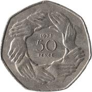 50 pence Entrée dans l'UE -  revers