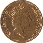 1 penny Elizabeth II (3e portrait, pas magnétique) -  avers