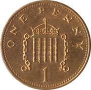 1 penny Elizabeth II (3e portrait, pas magnétique) -  revers