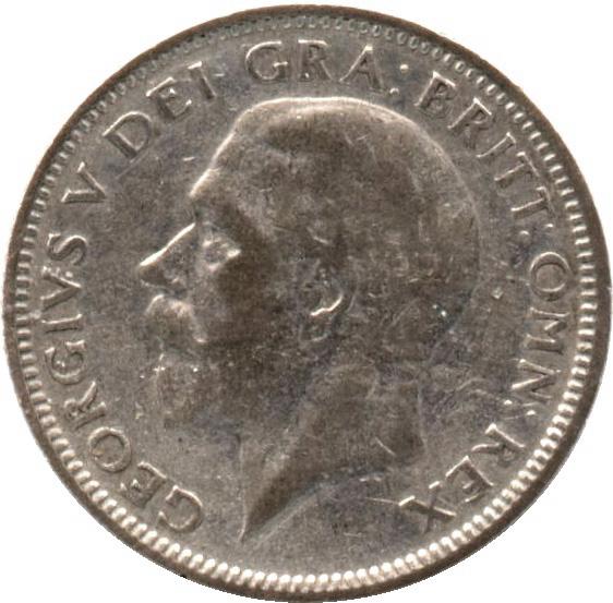 1 shilling george v 2e effigie 1er type royaume uni numista. Black Bedroom Furniture Sets. Home Design Ideas