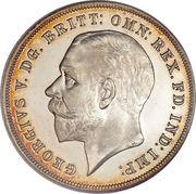 1 couronne Jubilé d'argent -  avers