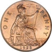 1 penny George V (2e effigie, petite tête) -  revers