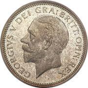 1 shilling George V (2e effigie, 2e type) -  avers