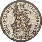 1 shilling George V (2e effigie, 2e type) -  revers