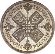 1 florin George V (2e effigie) -  revers