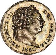 1 penny George III (maundy coinage, 3e effigie) -  avers