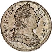1 farthing George III (1ère effigie) – avers