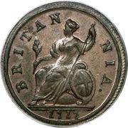 ½ penny George Ier (1ère effigie) – revers