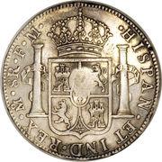 1 dollar (contremarque George III) – revers