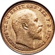 ⅓ farthing Edouard VII – avers