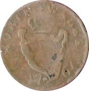 ½ Penny Evasion  ( North   Wales - Charles Fox M.P) -  revers