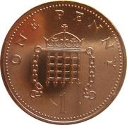 1 penny Elizabeth II (2e portrait) -  revers