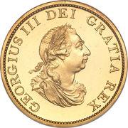 ½ Penny - George III – avers