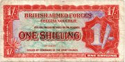 1 Shilling - British Armed Forces (2nd series) – avers