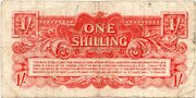 1 Shilling - British Armed Forces (2nd series) – revers