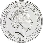 10 Pence Elizabeth II (5e effigie) -  avers