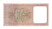 10 Shillings - British Military Authority – revers