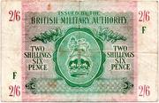 2 Shillings 6 Pence – avers