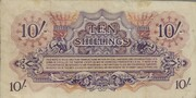 10 Shillings - British Armed Forces – revers