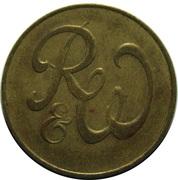 Jeton 6 Pence (R&W) – avers