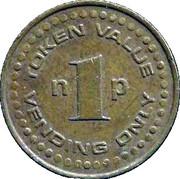 1 penny Ys Token – avers