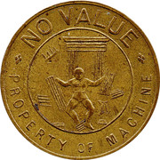 1 Penny - Samson Novelty Co. – avers