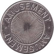 token AMUSEMENT – avers