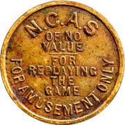 N.C.A.S Games Token – avers