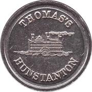 Game Token - Thomas's Hunstanton – avers