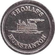Game Token - Thomas's Hunstanton – revers
