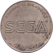 Jeton de jeu - Segaworld London – revers