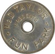 Jeton - M&D Taylor Fun Park (Strathclyde, Scotland) – avers